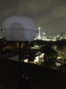 Static Drone Jammer di Istana Negara