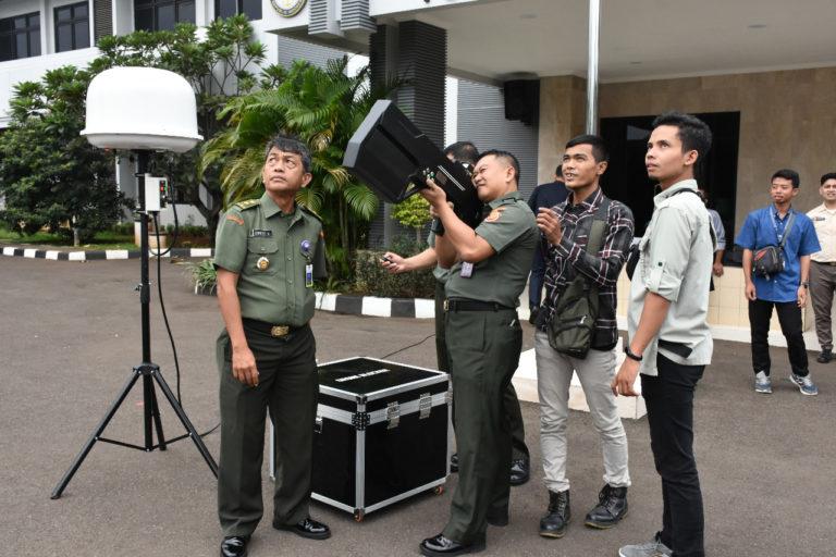 Pelatihan Drone Jammer di Pusdatin Kemhan